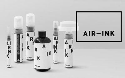 Transformando la contaminacion en tinta