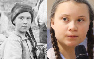 El viaje en el tiempo de Greta Thunberg