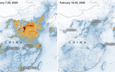 El Coronavirus ha causado disminución de la contaminación en China
